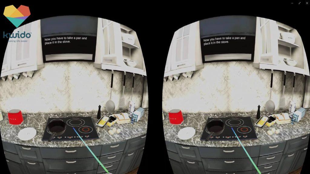 estimulacion cognitiva en realidad virtual con kwido